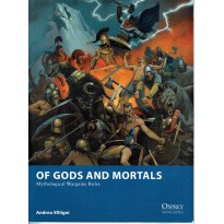 Of Gods and Mortals - Mythological Wargame Rules (Livre de règles Osprey Wargames en VO) 001