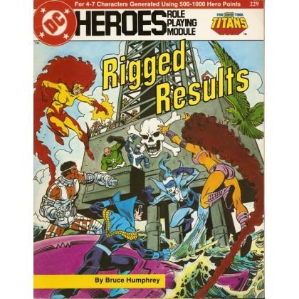 Titans - Rigged Results (jdr DC Heroes RPG en VO) 002