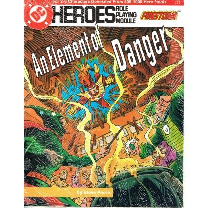Firestorm - An element of danger (jdr DC Heroes RPG en VO) 001