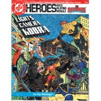 The Ousiders - Lights Camera Kobra (jdr DC Heroes RPG en VO) 002