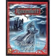 Ravenloft - RR5 Van Richten's Guide to Ghosts (jdr AD&D 2ème édition en VO)
