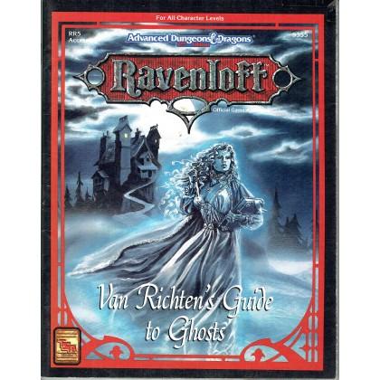 Ravenloft - RR5 Van Richten's Guide to Ghosts (jdr AD&D 2ème édition en VO) 002