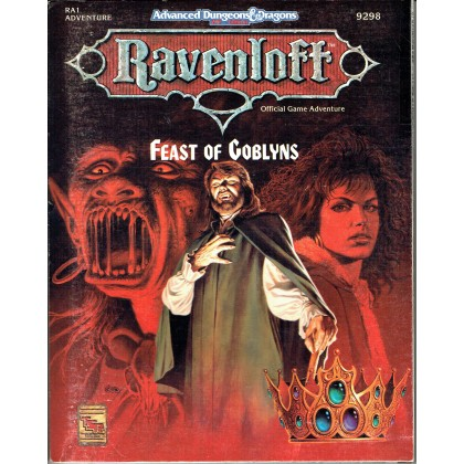 Ravenloft - RA1 Feast of Goblyns (jdr AD&D 2ème édition en VO) 002