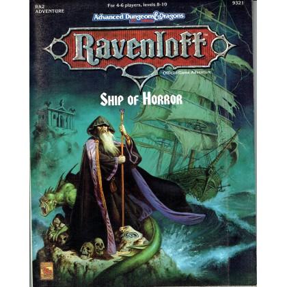 Ravenloft - RA2 Ship of Horror (jdr AD&D 2ème édition en VO) 001