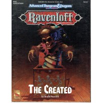Ravenloft - RM2 The Created (jdr AD&D 2e édition en VO)