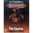 Ravenloft - RM2 The Created (jdr AD&D 2e édition en VO) 001
