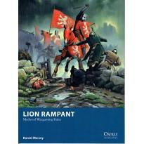 Lion rampant - Medieval Wargames Rules (Livre de règles Osprey Wargames en VO) 001