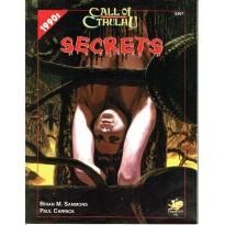 Secrets (Rpg Call of Cthulhu 1990s en VO) 001