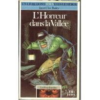 353 - L'Horreur dans la Vallée (Un livre dont vous êtes le Héros - Gallimard) 001