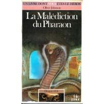 333 - La Malédiction du Pharaon (Un livre dont vous êtes le Héros - Gallimard) 002