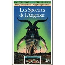383 - Les Spectres de l'Angoisse (Un livre dont vous êtes le Héros - Gallimard)