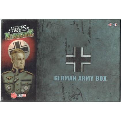 Heroes of Normandie - German Army Box (jeu de stratégie & wargame de Devil Pig Games en VF & VO) 001