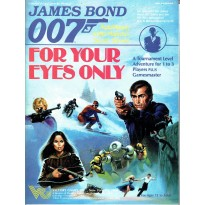 For your Eyes Only (James Bond 007 Rpg en VO)