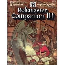 Rolemaster Companion III (jdr Rolemaster en VO)