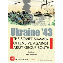 Ukraine'43 - The Soviet summer offensive against Army Group South (wargame GMT V2 en VO)