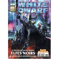 White Dwarf N° 86  (magazine de jeux de figurines Games Workshop en VF) 002