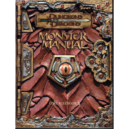 Monster Manual - Core Rulebook III (jdr D&D 3.0 en VO) 003