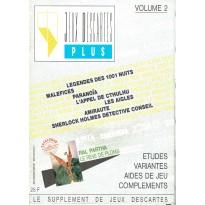 Jeux Descartes Plus Volume 2 (revue de jeux de rôles et de stratégie)