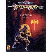 Dragonlance - DLQ2 Flint's Axe (jdr AD&D 2ème édition en VO) 002