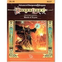 Dragonlance - DL16 World of Krynn (jdr AD&D 1ère édition en VO) 002