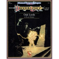 Dragonlance - DLS3 Oak Lords (jdr AD&D 2ème édition en VO) 002
