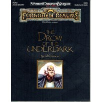 FOR2 The Drow of the Underdark (jdr AD&D 2 - Forgotten Realms en VO)