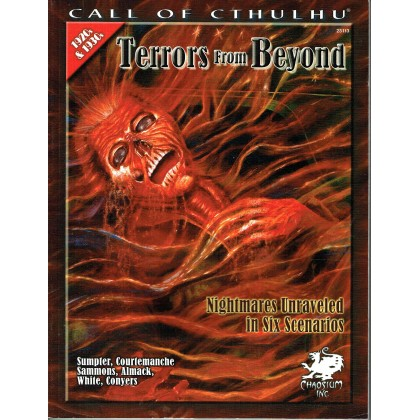 Terrors from Beyond (Rpg Call of Cthulhu 1920s & 1930s en VO) 001