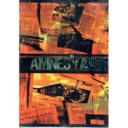 Amnesya 2K51 - Ecran de jeu & livret (jdr en VF) 002