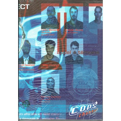 C.O.P.S. - Ecran & livret (jdr 2ème édition Oriflam en VF) 003
