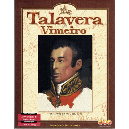Talavera & Vimeiro - Napoleonic Battle series no. 4 (wargame MMP The Gamers en VO) 001