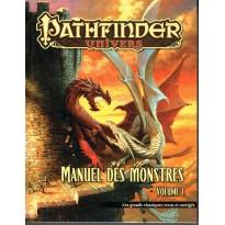 Manuel des Monstres - Volume 1 (jdr Pathfinder Univers en VF)