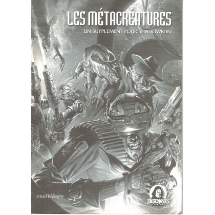 Shadowrun - Les Métacréatures (jdr 3ème édition en VF) 001