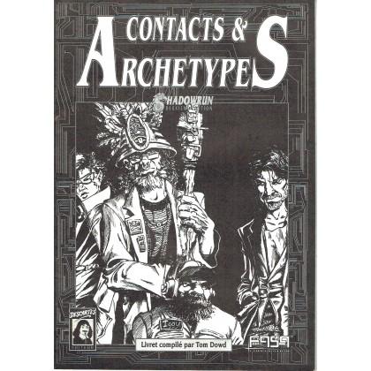 Shadowrun - Contacts & Archétypes (jdr 2ème édition en VF) 001