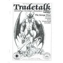 Tradetalk 15 - The Chaos Society Magazine (fanzine Glorantha Runequest Hero Wars en VO) 001