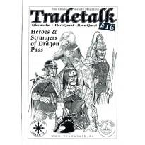 Tradetalk 16 - The Chaos Society Magazine (fanzine Glorantha Runequest Hero Wars en VO) 001