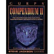 Compendium II - Combat and Campaigns (jdr GURPS Third edition en VO)