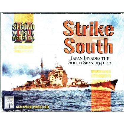 Strike South - Second World War at Sea (wargame Avalanche Press en VO) 001