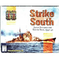 Strike South - Second World War at Sea (wargame Avalanche Press en VO) 001