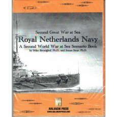 Royal Netherlands Navy - Second Great War at Sea (wargame Avalanche Press en VO)