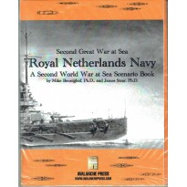 Royal Netherlands Navy - Second Great War at Sea (wargame Avalanche Press en VO) 001