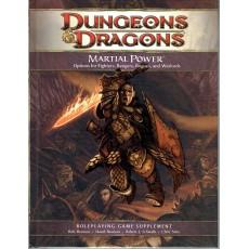 Martial Power (jdr Dungeons & Dragons 4 en VO)