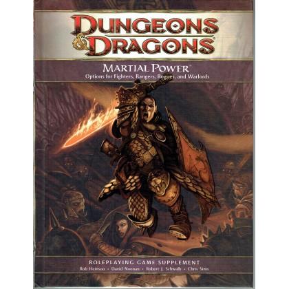 Martial Power (jdr Dungeons & Dragons 4 en VO) 001