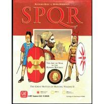SPQR with Deluxe Scenario Pack - The Art of War in the Roman Republic (wargame GMT en VO) 001
