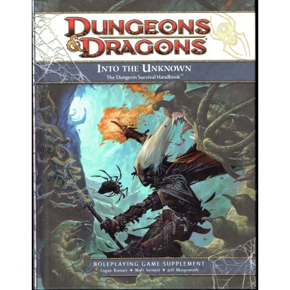 Into the Unknown - The Dungeon Survival Handbook (jdr D&D 4 en VO) 001