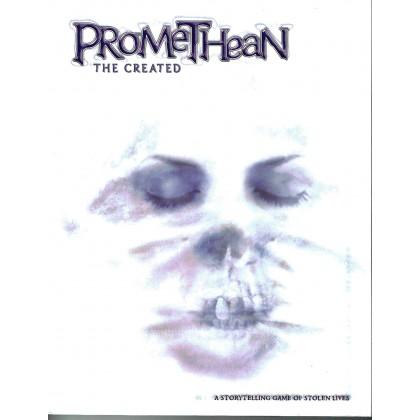 Promethean The Created - Couverture souple (jdr Le Monde des Ténèbres en VO) 001