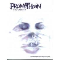 Promethean The Created - Couverture souple (jdr Le Monde des Ténèbres en VO)