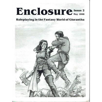Enclosure - Issue 2 (Le Zine de jdr pour le Monde de Glorantha en VO) 001