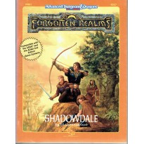 FRE1 Shadowdale (jdr AD&D 2nd édition - Forgotten Realms en VO)