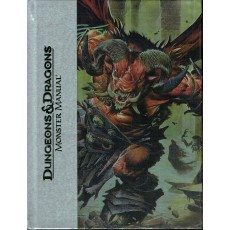 Monster Manual - Deluxe Edition (jdr Dungeons & Dragons 4 en VO)