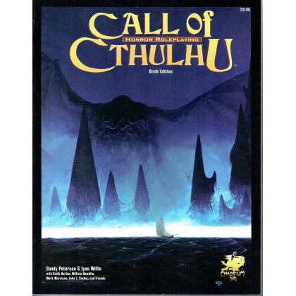 Call of Cthulhu - Horror Roleplaying (Livre de base Sixth Edition en VO) 001